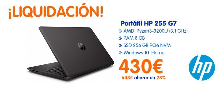 Portátiles HP 255 g7